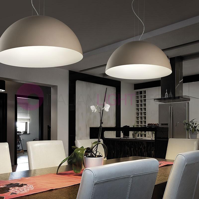 DUNE LED Lampada a Sospensione da Cucina a Led D.40 Design Moderno