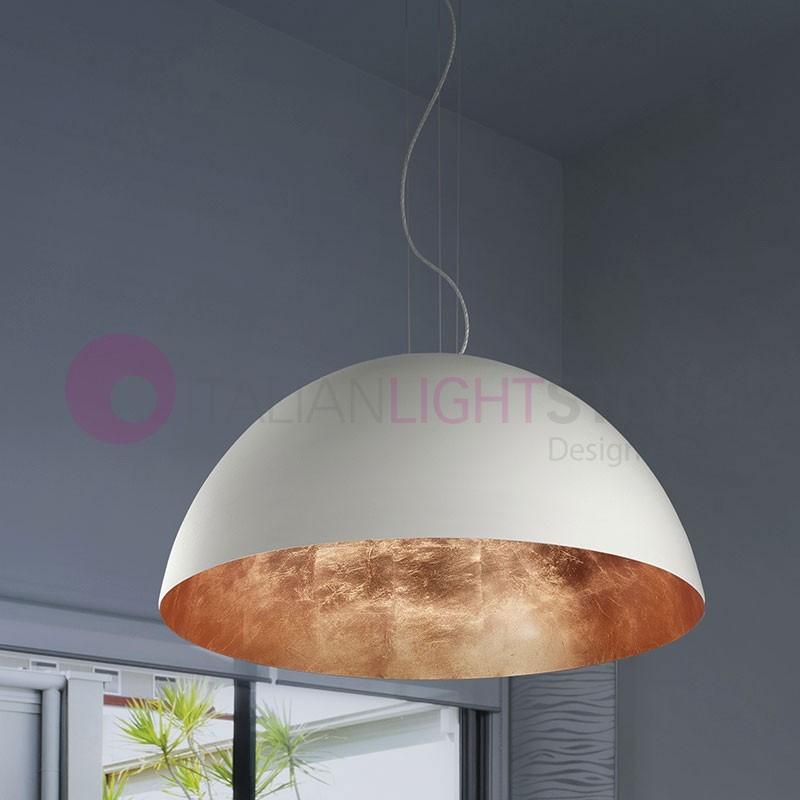 LED Lampada Sospensione da Cucina a Led D.50 Design Moderno Braga