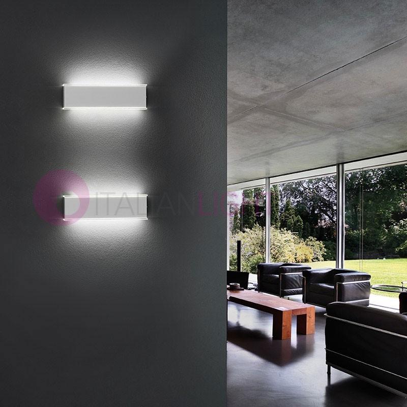 GAMMA Applique Lampada da Parete a Led L.30 Design Moderno