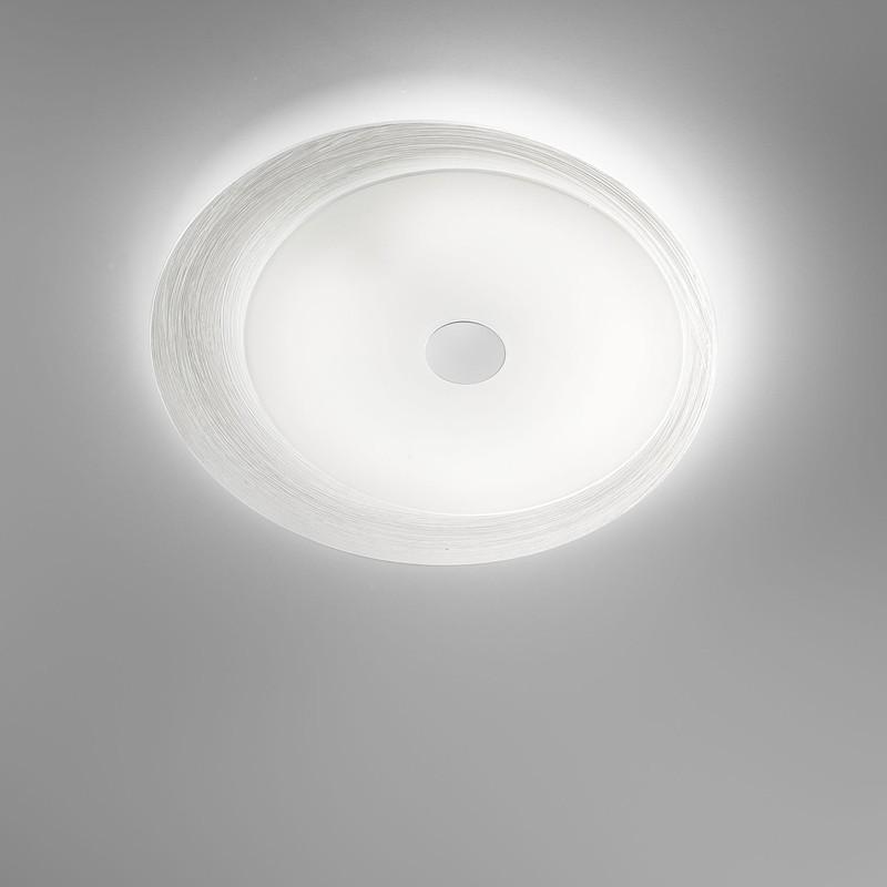 Lampadario led da soffitto plafoniera design fuoriskema antea luce - Lampada bagno soffitto ...