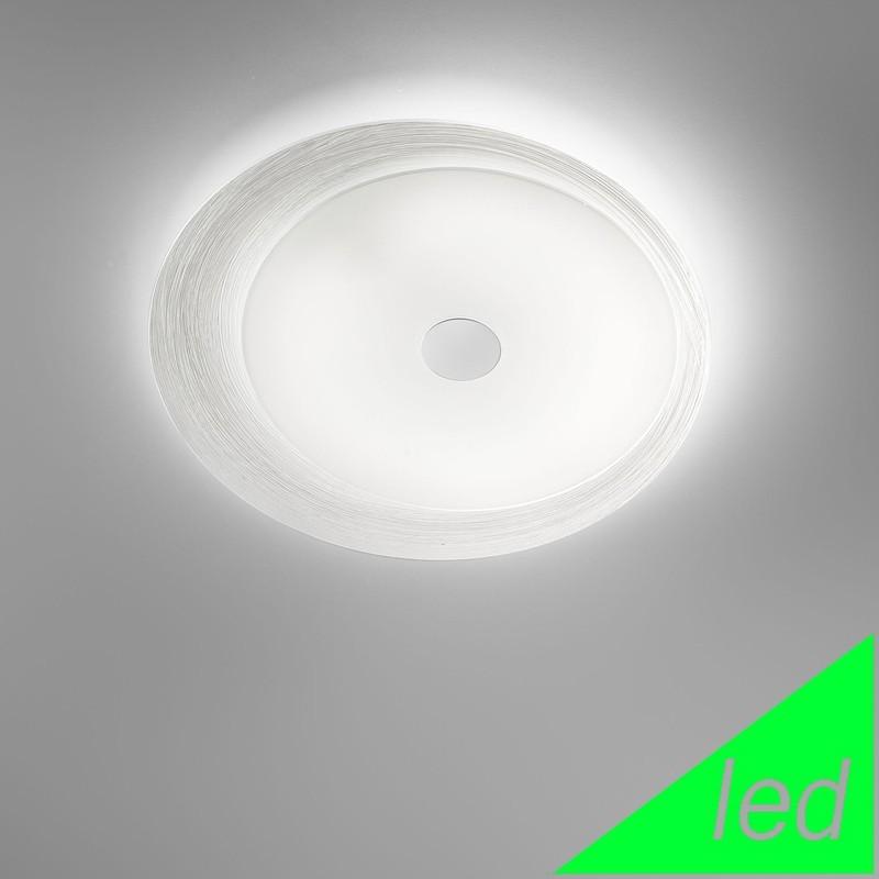 Betta lampe de plafond plafond 2 light chrome moderne for Lampe plafond design