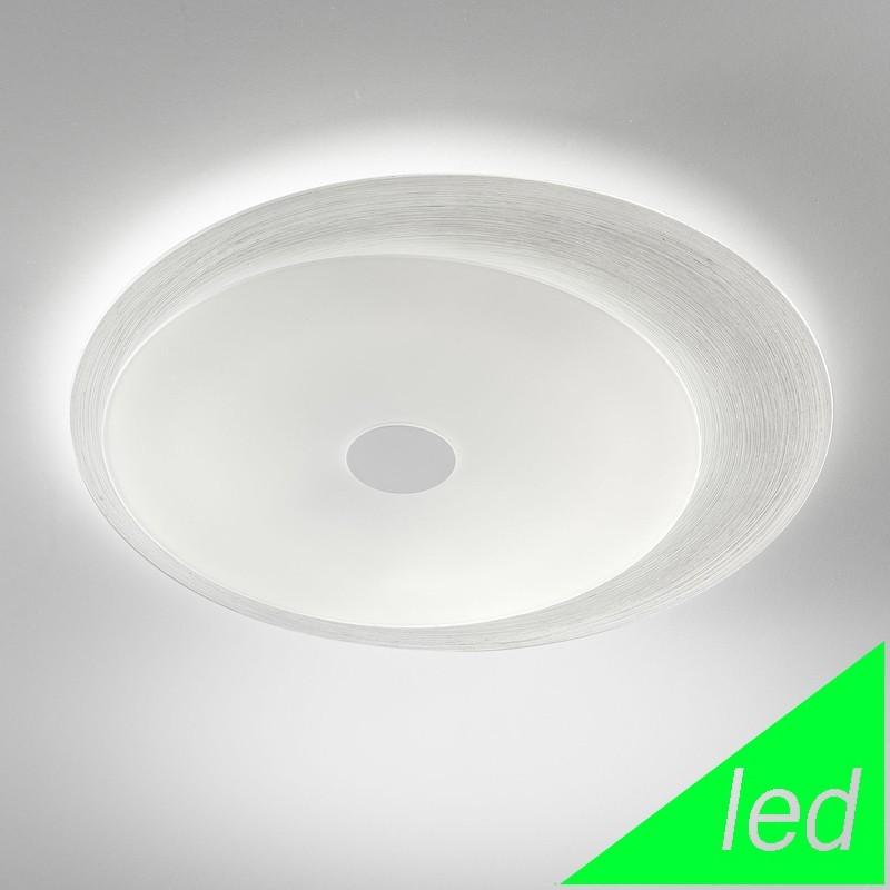 Plafoniera lampadario moderno led vetro design - Lampada led design ...