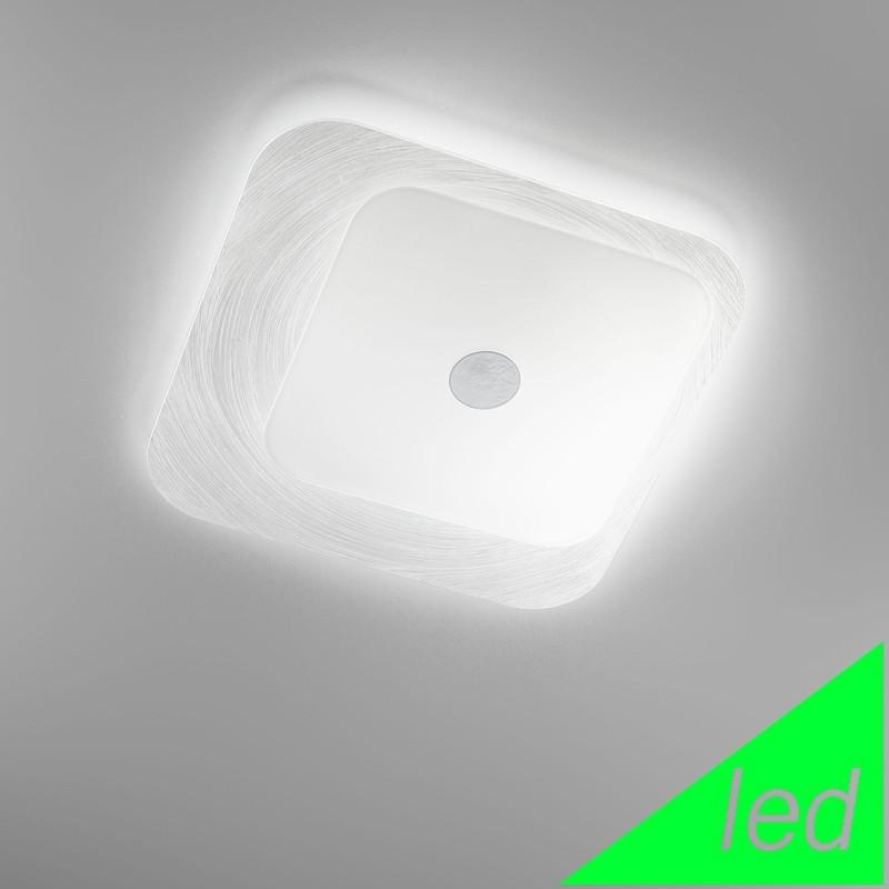 FUORISKEMA LED Lampada da Soffitto Vetro Moderno D.42 Cm
