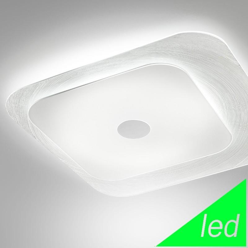 FUORISKEMA LED Lampada da Soffitto Moderna Vetro D.55 Cm