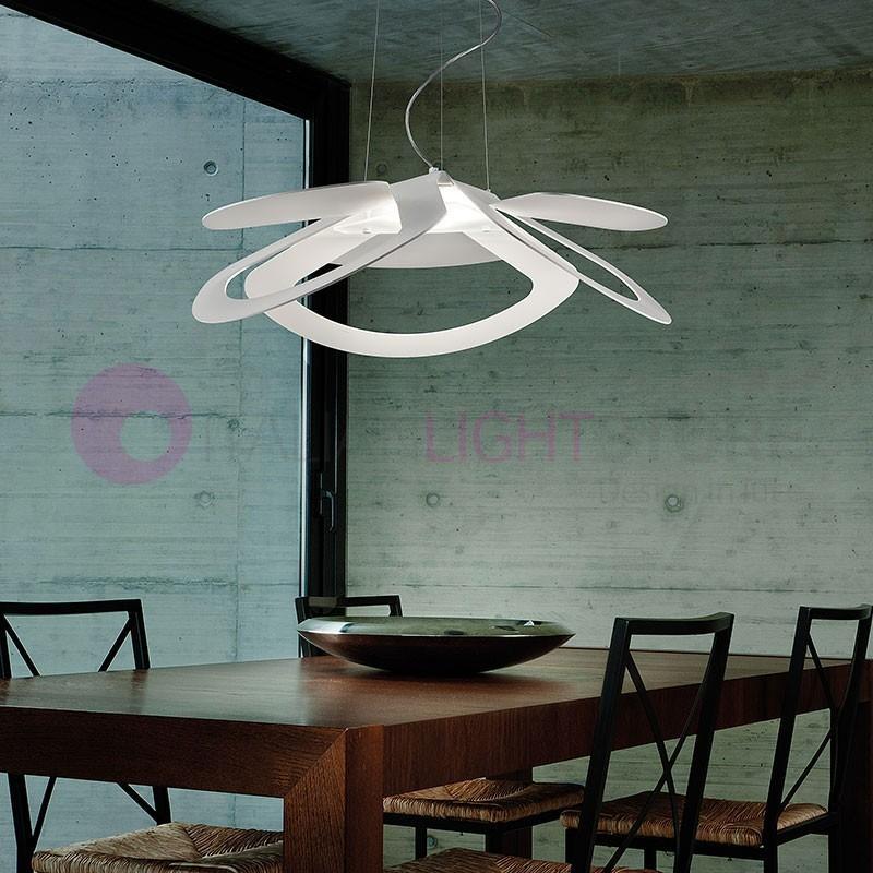 LOTO LED Lampada a Sospensione a Led con Luce verso il basso Design Moderno