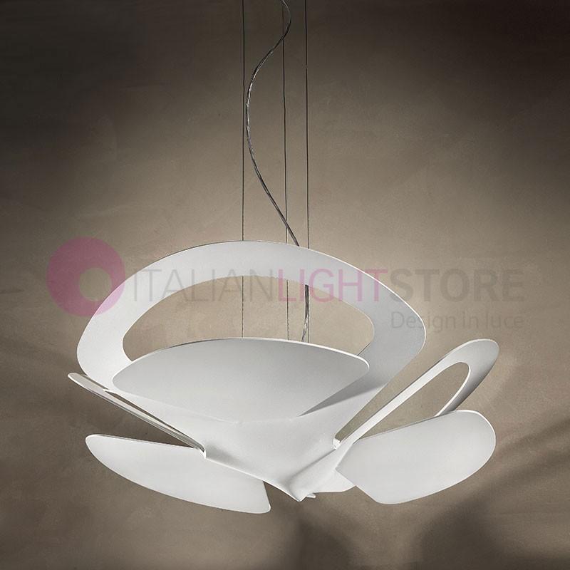 LOTO LED Lampada a Sospensione a Led con Luce verso l'alto Design Moderno