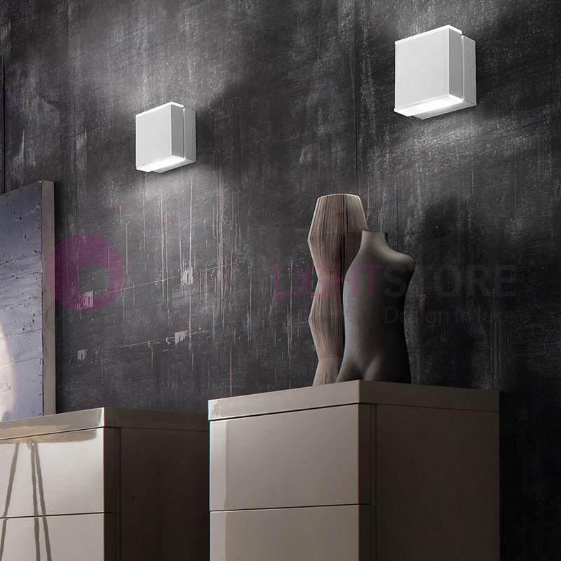 CUBO Applique Lampada a parete a Led Orientabile Design Moderno