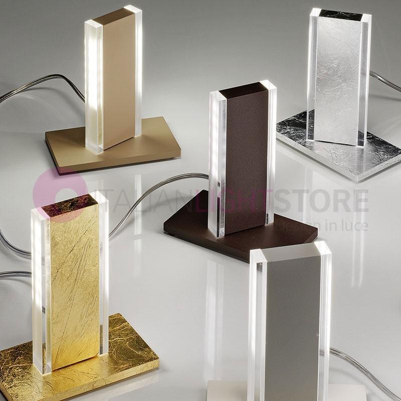 STEP Lampada da Tavolo a Led Orientabile Design Moderno