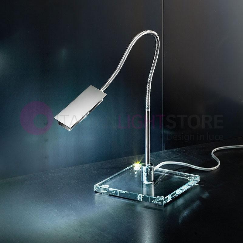 FLEXY Lampada da Tavolo a Led con Braccio Orientabile Design Moderno