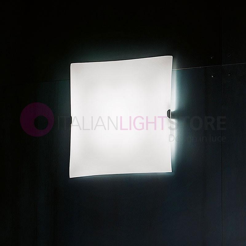 GLASS LED Plafoniera a Parete o Soffitto a Led L.23 Design Moderno