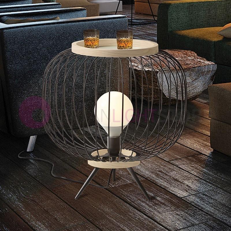 CHAPLIN Lampada da Terra con Piedini D.48 Design Moderno