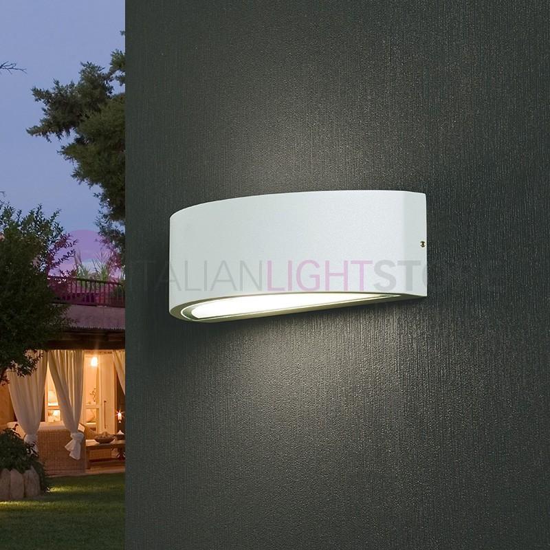Lampade da giardino a parete in offerta italianlightstore - Illuminazione da parete design ...