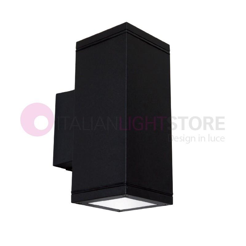 UP&DOWN-Q Faretto Moderno Monodirezionale Alluminio a 1 Luce IP65 Illuminazione Esterno