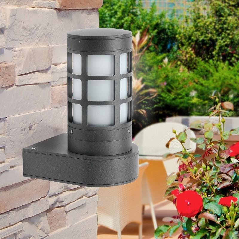 FEBO3 Lampada a Parete Moderna IP65 per Esterni Illuminazione Giardino
