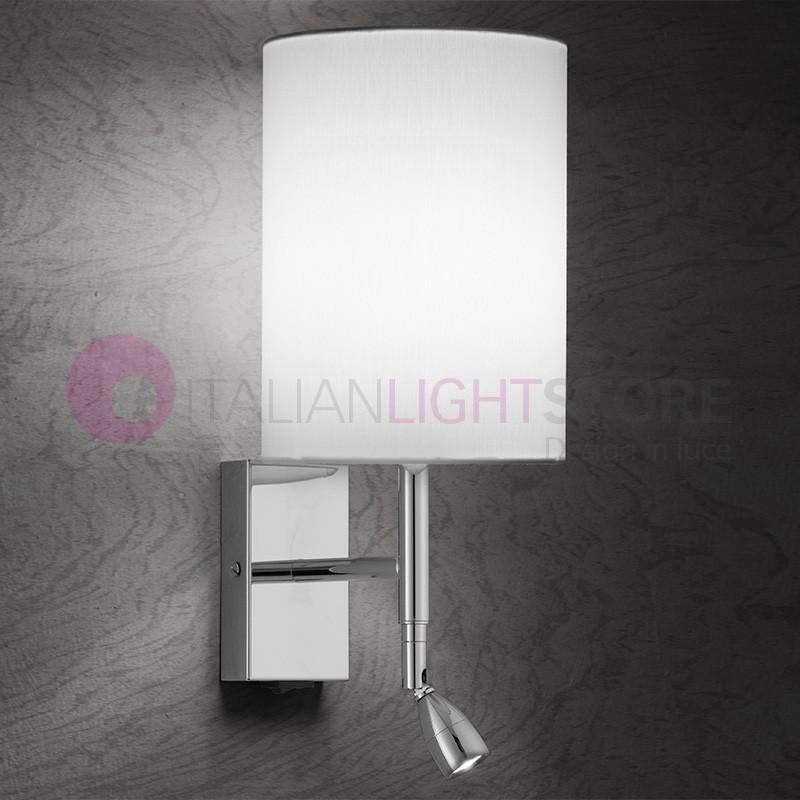EASY Lampada a Parete H.35 a LED Design Moderno con Paralume