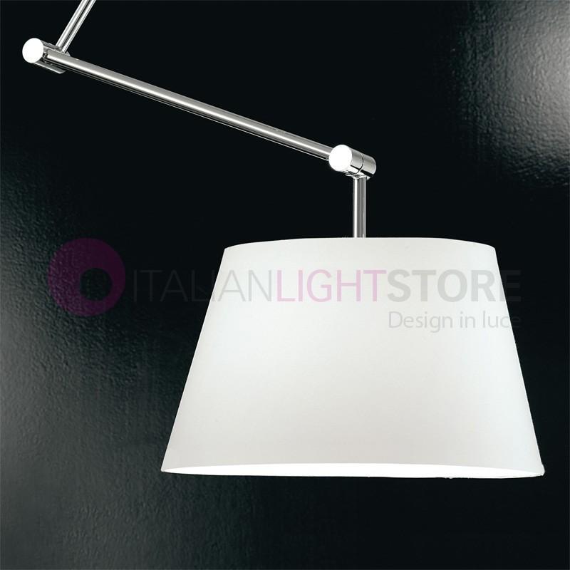 SuspensionBras Design La Flexible Avec D'ombrage Lampe De Toile Jouer Moderne A5Rj4L