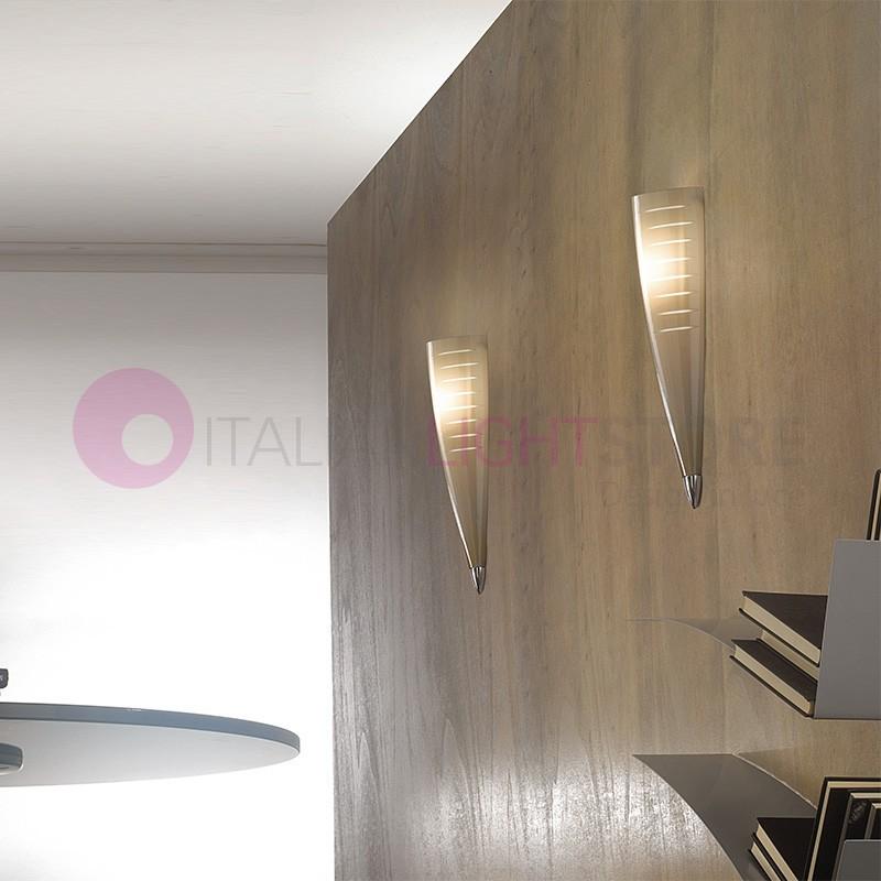IRIS Applique in Vetro di Murano Design Moderno