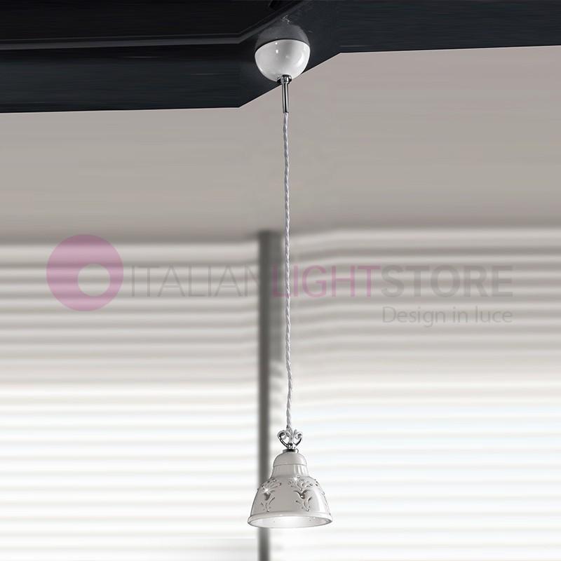 LUNADORO Mini Suspension d.13,5 Ceramic with Crystals