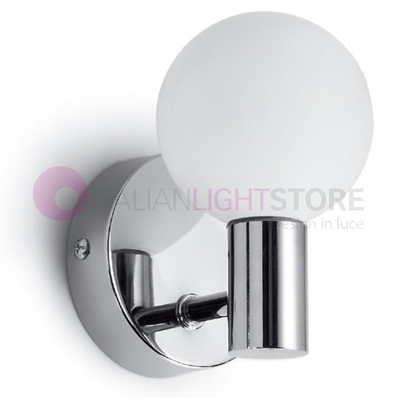 Applique led murale moderne design plat led antea lumi re for Lampe salle de bain design
