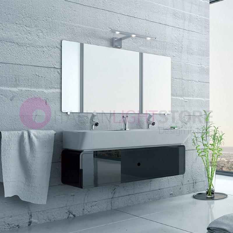 Dick mur lampe de salle de bain ip44 miroir de salle de for Lampe salle de bain design