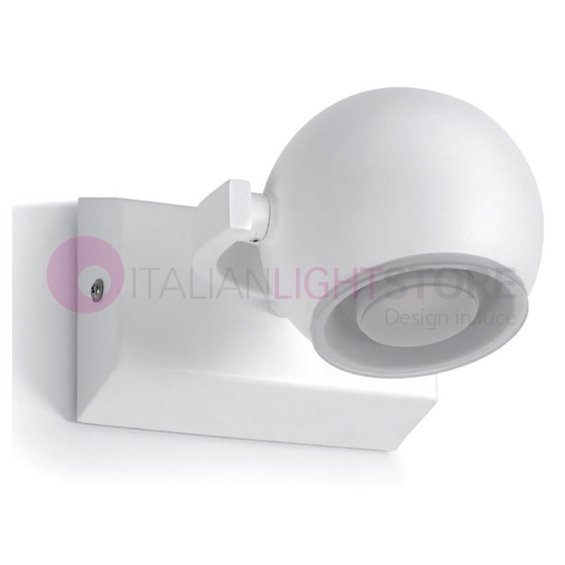 MOON Wall Lamp Bathroom Led IP44 Modern Design