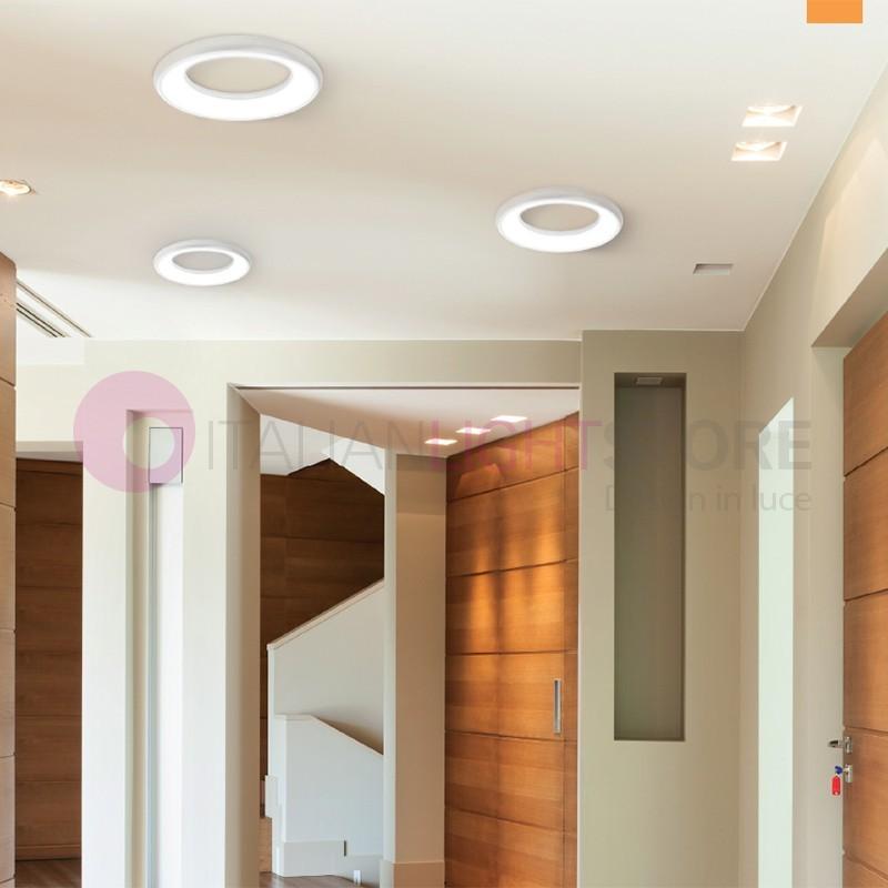 FRED Lampada da Parete e Soffitto a Led d. 30 cm. Design Moderno