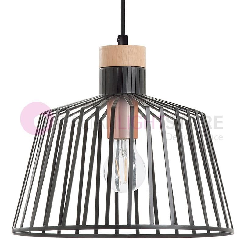 BAGUET pendant Lamp Wooden Design Modern Vintage
