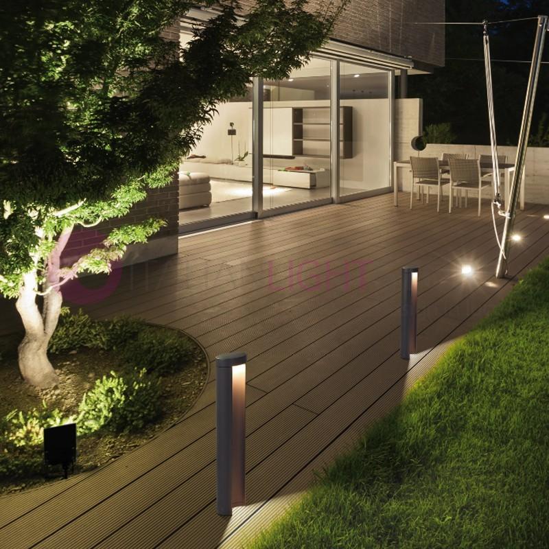 CAIRO Lampioncino Paletto a Led da Esterno Design Moderno IP54