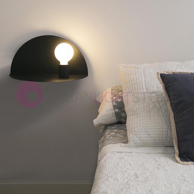 NIT Lampada a Parete con Lampadina a Vista Design Moderno | Faro
