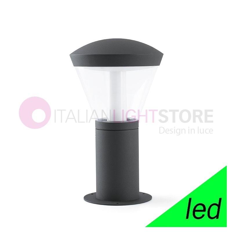 SHELBY Paletto Lampioncino Moderno a LED da Giardino IP65