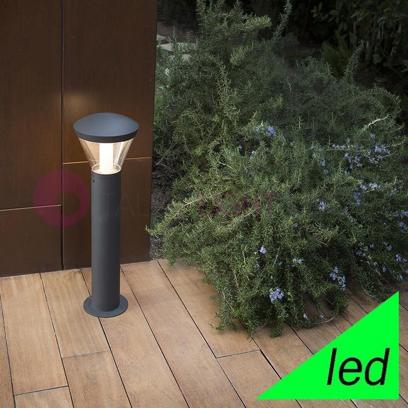 SHELBY Paletto Lampioncino Modero a LED IP65 Illuminazione Giardino