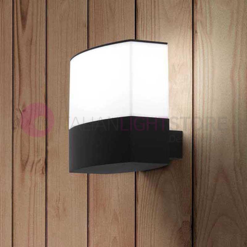 Datna lampada a parete da esterno design moderno faro - Lampada parete design ...