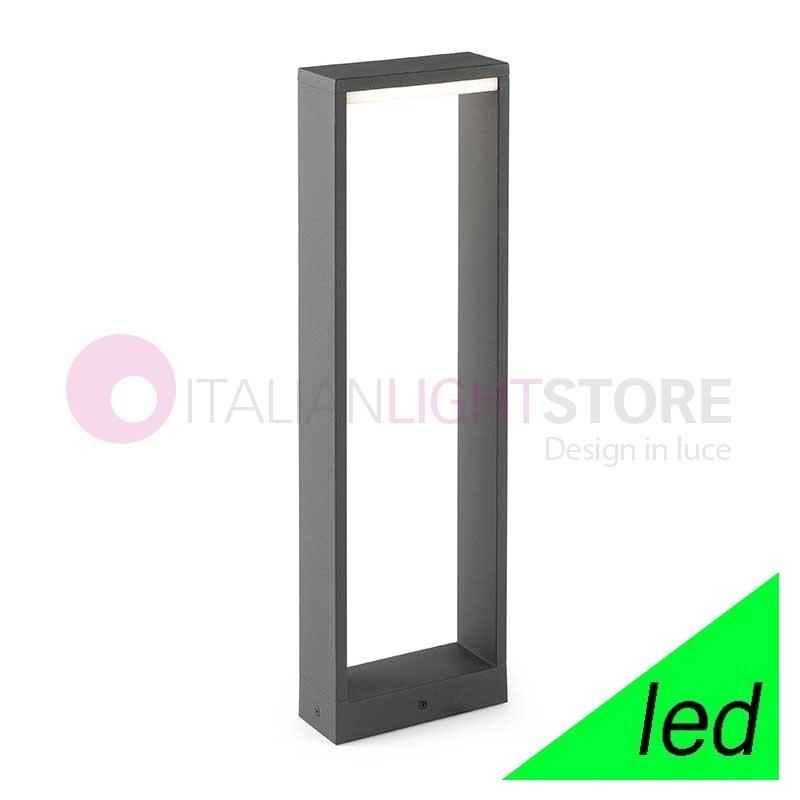 ALP Paletto Lampioncino a LED da Giardino H.50 Design Moderno IP54