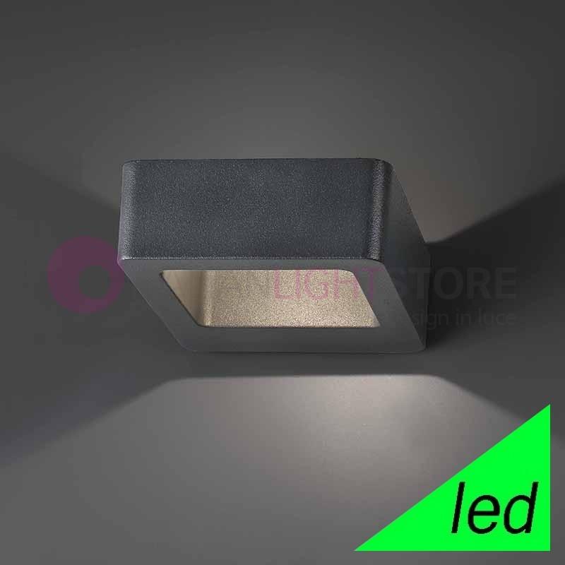 DAS Lampada a Parete LED da Esterno Design Moderno IP54