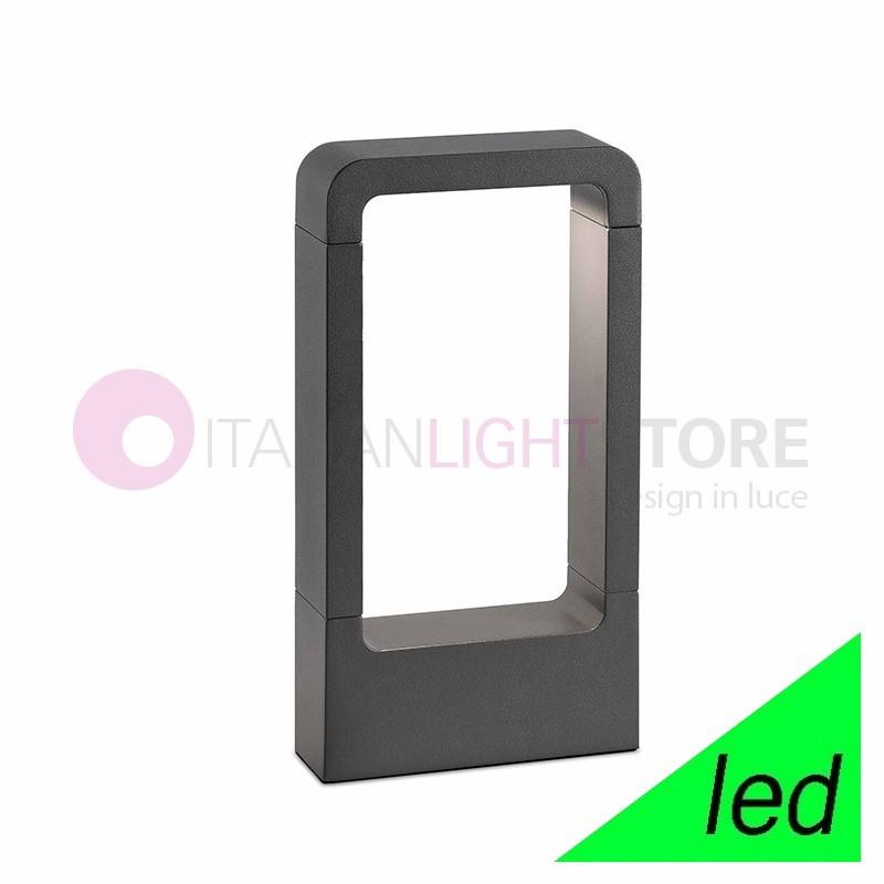 DAS Paletto Lampioncino a LED da Giardino H.30 Design Moderno IP54