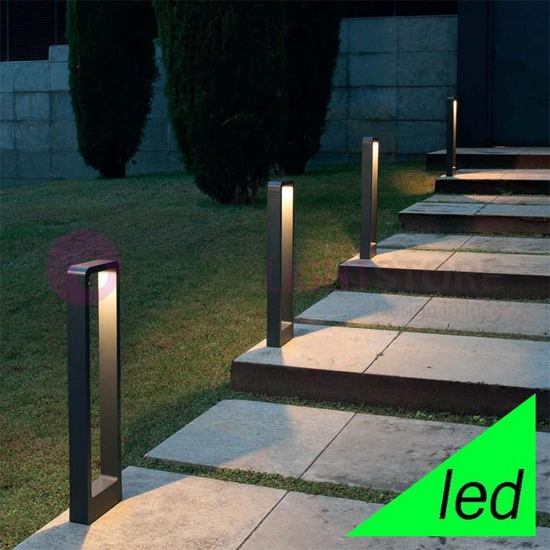 Das paletto lampioncino a led da giardino moderno - Giardino moderno design ...