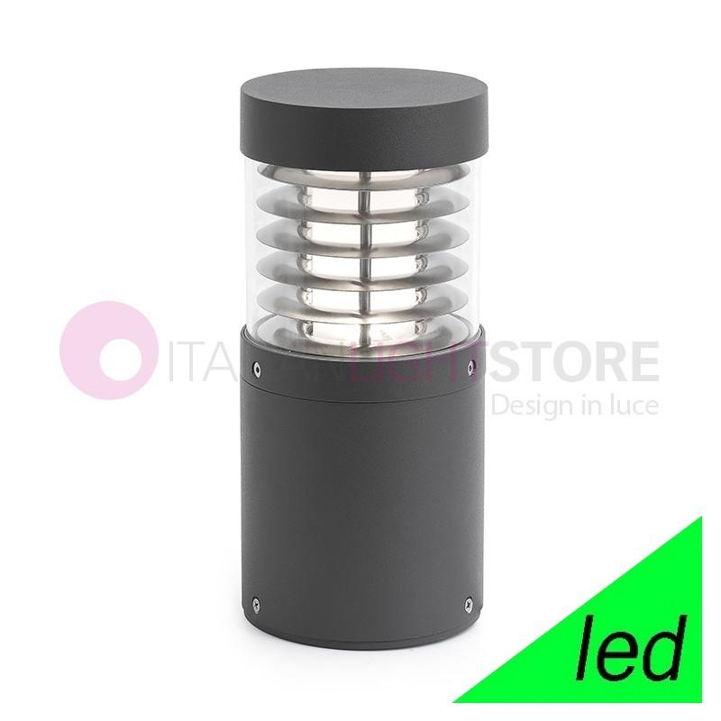 GIZA Paletto Lampioncino a LED da Giardino H.26,5 Design Moderno IP54