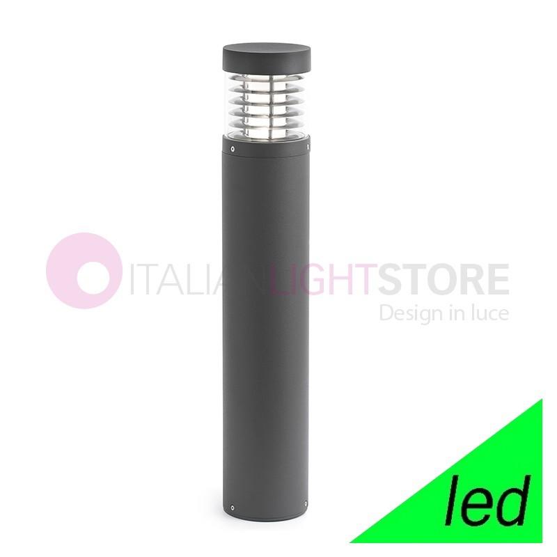 GIZA Paletto Lampioncino a LED da Giardino H.65 Design Moderno IP54
