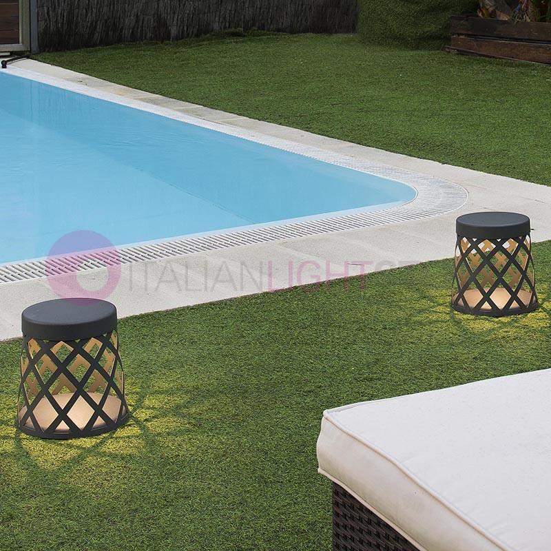 Shadow originale paletto da giardino a led design moderno ip65 faro - Giardino moderno design ...