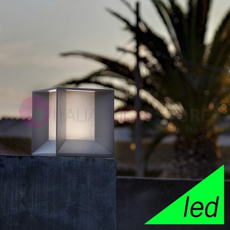 MILA Paletto Sopra muro a LED da Giardino Design Moderno IP65