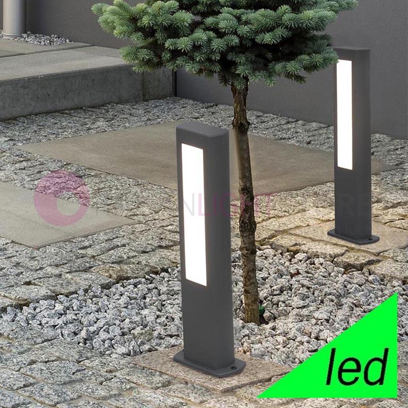 NANDA Paletto Lampioncino a LED da Giardino H.50 Design Moderno IP54