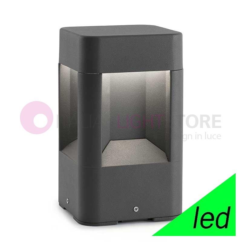 NAYA Paletto Lampioncino da muretto a LED da Giardino H.20,5 Design Moderno IP54