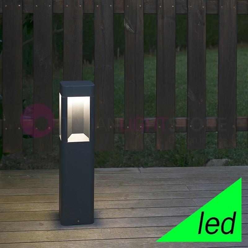 NAYA Paletto Lampioncino a LED da Giardino H.50 Design Moderno IP54