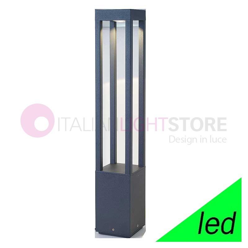 AGRA Paletto Lampioncino a LED da Giardino H.65 Design Moderno IP54