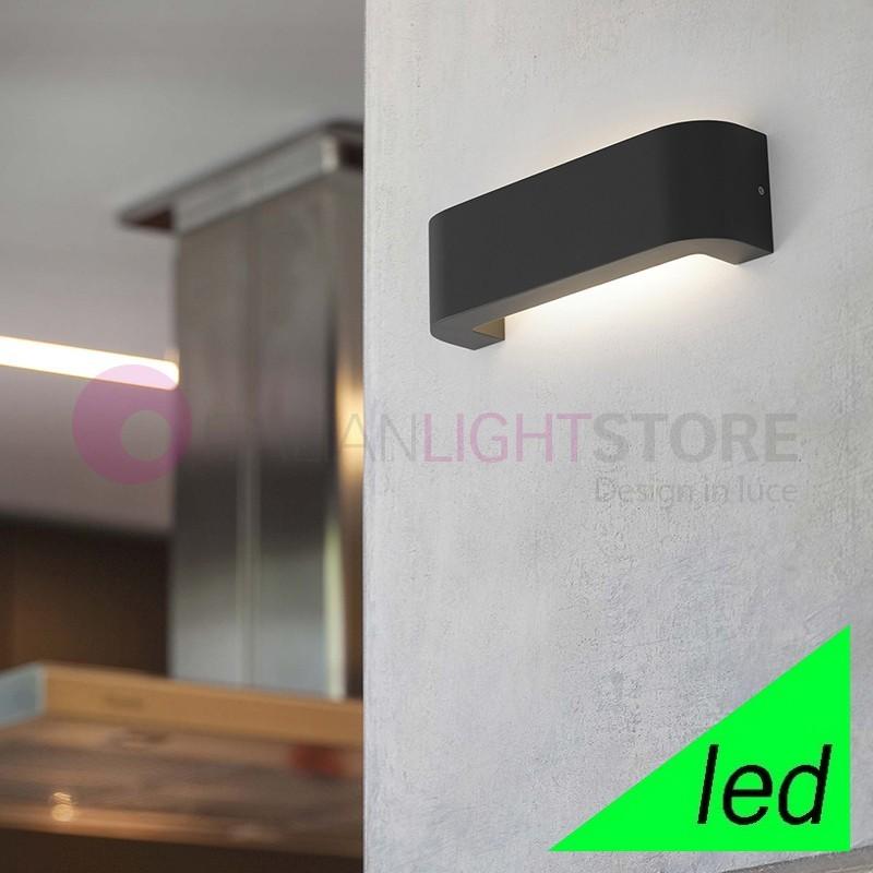 BRACKET Lampada a Parete LED da Esterno Design Moderno IP44