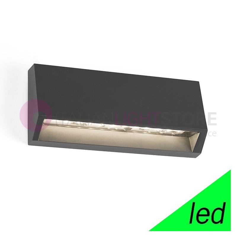 MUST Lampada a Parete LED da Esterno L.15,8 Design Moderno IP65