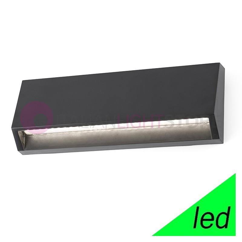 MUST Lampada a Parete LED da Esterno L.21,7 Design Moderno IP65