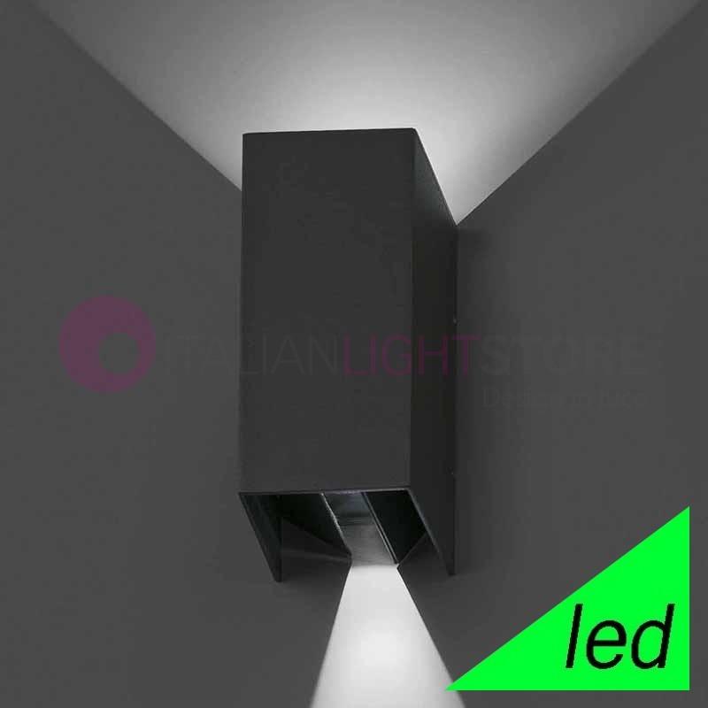 BLIND Lampada a Parete Moderna a LED da Esterno con Alette direzionabili IP54