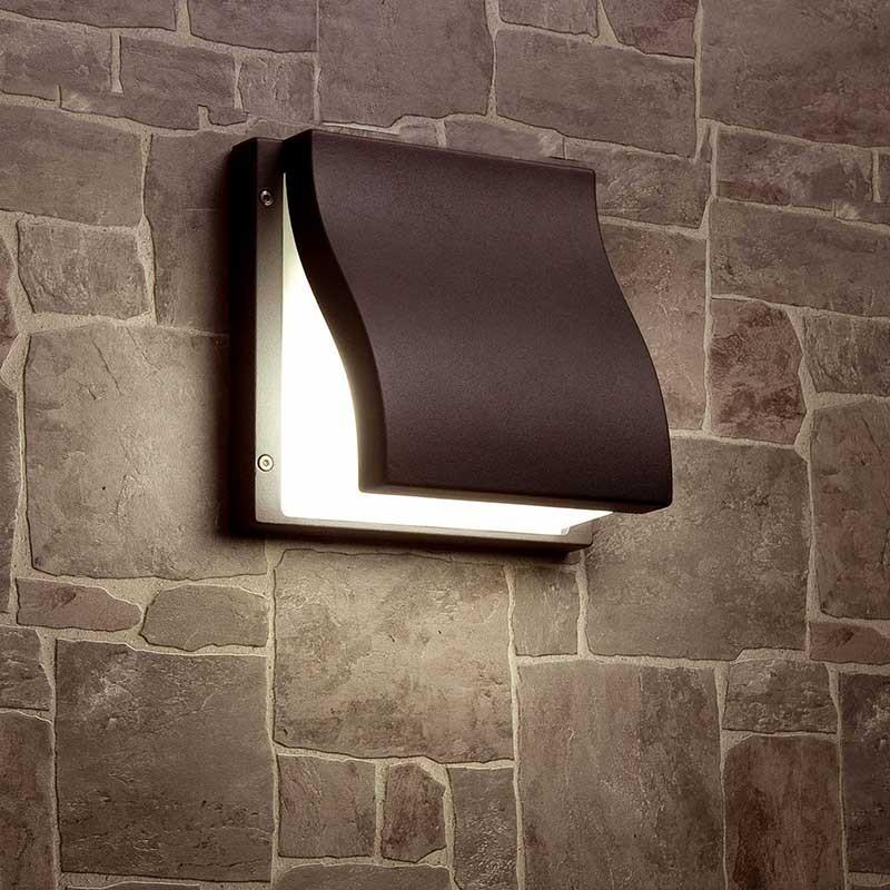SUMA Lampada a Parete da Esterno Design Moderno IP44
