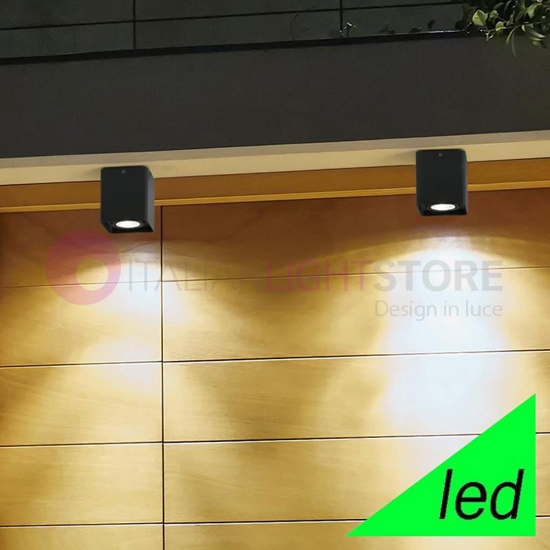 TAMI Plafoniera Quadrata a LED da Esterno Design Moderno IP54